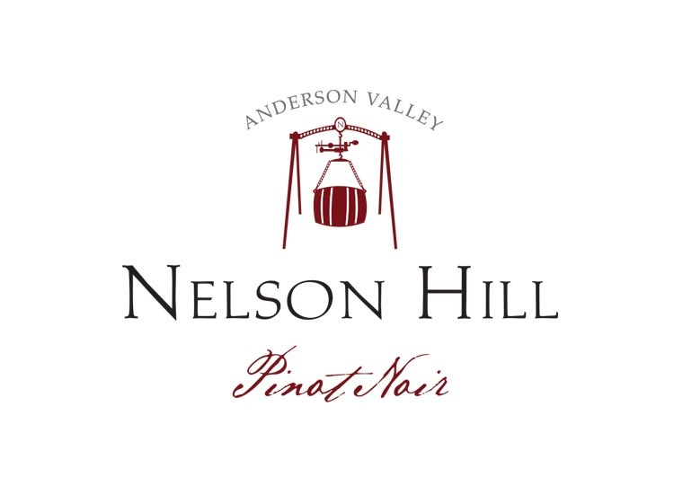 Nelson Hills Winery logo design