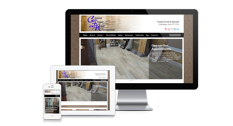 Responsive custom website design