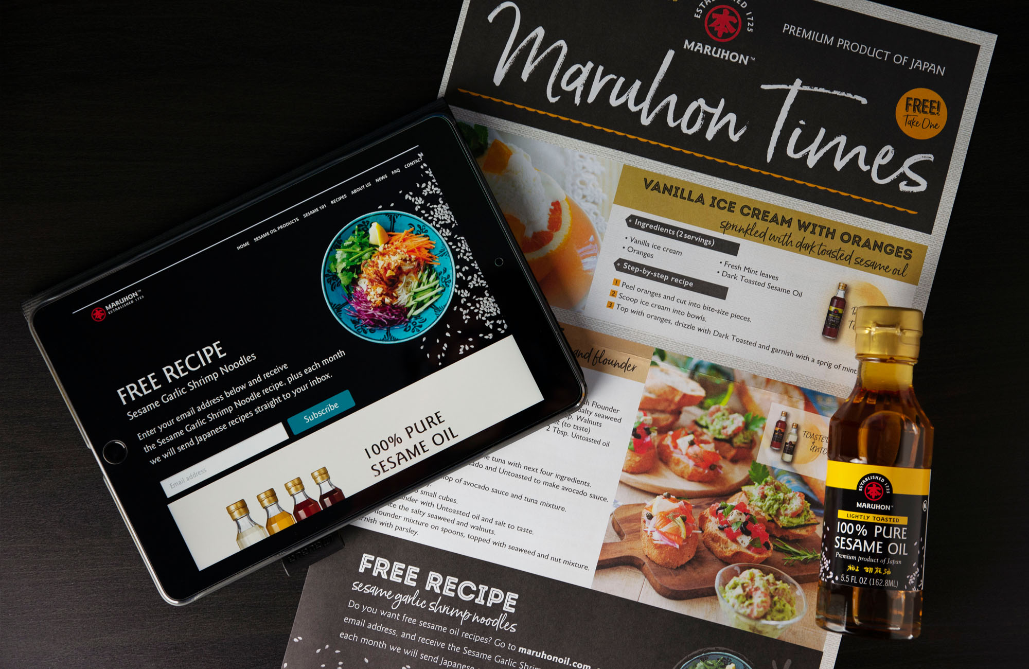 Website, packaging, and collateral for food company